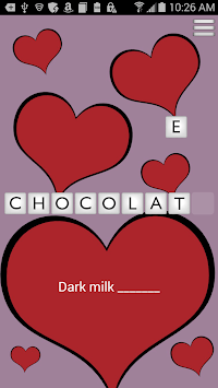 Valentine's Day Scramble APK screenshot 1