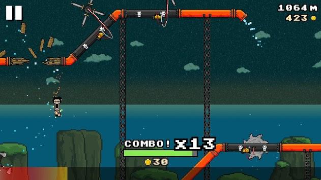 8-BIT WATERSLIDE APK screenshot 1