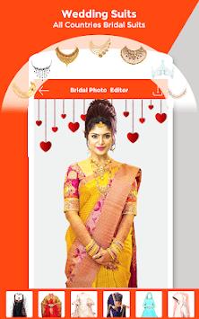 Bridally - Wedding Makeup Photo Editor Beauty app APK screenshot 1