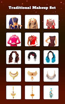 Traditional Girl Photo Suits - Traditional Dresses APK screenshot 1