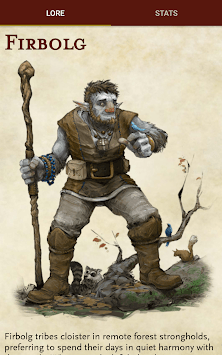 5e character APK screenshot 1