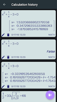 Fx Calculator 350es 84+ calculator sin cos tan APK screenshot 1