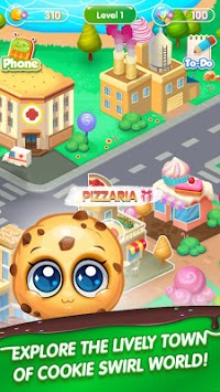 Cookie Swirl World APK screenshot 1