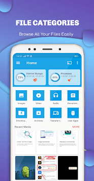 EX File Explorer File Manager for Android APK screenshot 1