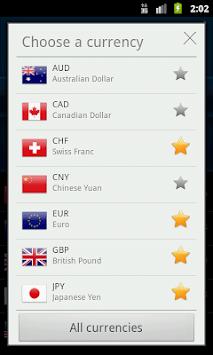Easy Currency Converter APK screenshot 1
