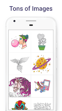 Chamy - Color by Number APK screenshot 1