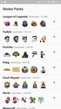 WAStickerApps - Games stickers for Whatsapp APK screenshot 1