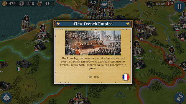 European War 6: 1804 APK screenshot 1
