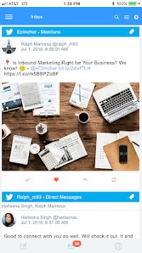 eClincher: Social Media Management, Marketing APK screenshot 1