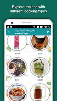 2600+ Seafood Recipes Offline: Crab, Shrimp & Fish APK screenshot 1