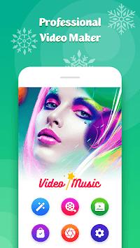 Video Slideshow With Music, Video Maker & Editor APK screenshot 1