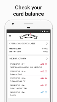 Fleet One CardControl APK screenshot 1