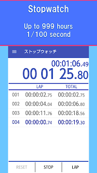Multi Timer - Stopwatch Timer APK screenshot 1