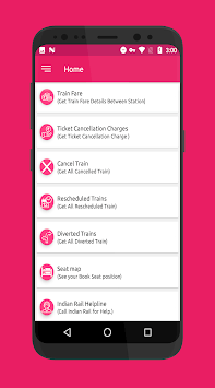 IRCTC Ticket PNR Check Seat Availability Enquiry APK screenshot 1