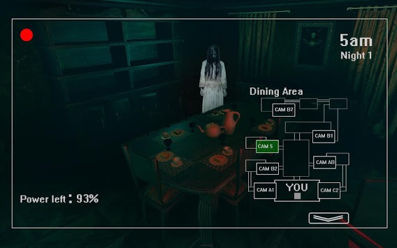 Five Nights at Haunted House: Survival Horror Game APK screenshot 1