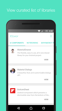 Elixir - Awesome Libraries for Android™ APK screenshot 1