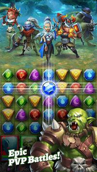 Dragon Strike: Puzzle RPG APK screenshot 1