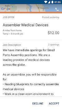 Remedy Staffing APK screenshot 1