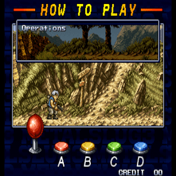 Code metal slug 4 arcade APK screenshot 1