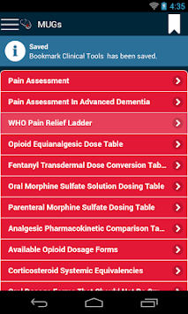 MUGs & Formulary Guide APK screenshot 1