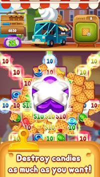 Food POP : puzzle World APK screenshot 1