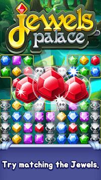 Jewels Palace : Fantastic Match 3 adventure APK screenshot 1