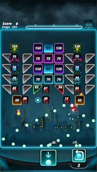 Brick puzzle master : Ball Vader2 APK screenshot 1