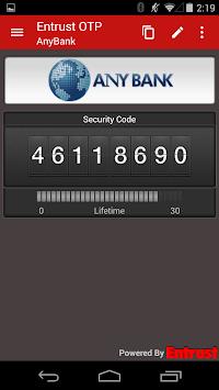 Entrust IdentityGuard Mobile APK screenshot 1