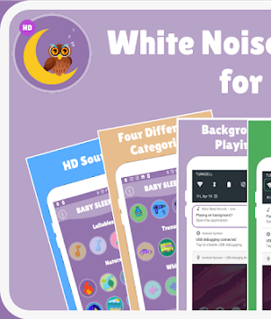White Noise  and Lullabies for Babies 🎵🎶 APK screenshot 1