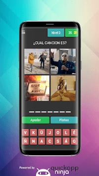 4 Fotos 1 Canción - Reggaeton y Trap - Bad Bunny. APK screenshot 1