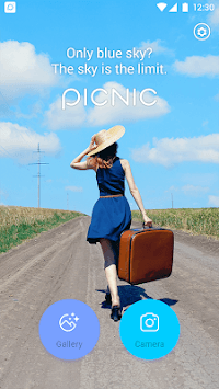 PICNIC - photo filter for dark sky, travel apps APK screenshot 1