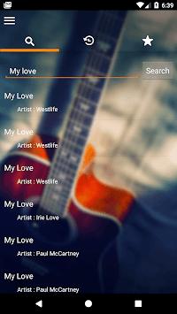 Song Chord Finder APK screenshot 1