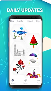 POLYGON: Color by Number APK screenshot 1