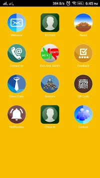 TAB Event App APK screenshot 1