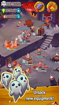 Idle Evil — Clicker & Simulator APK screenshot 1