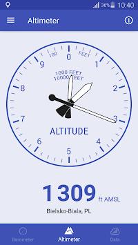 Barometer & Altimeter APK screenshot 1