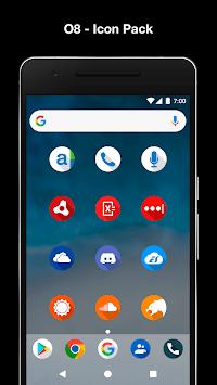 O8 - Android Oreo 8.0 Icon Pack APK screenshot 1