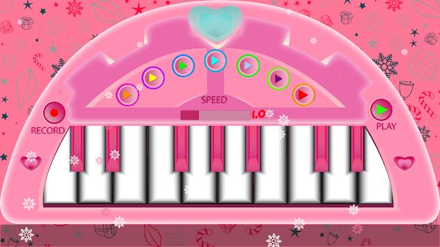 Pink Piano-Pink Keyboard APK screenshot 1