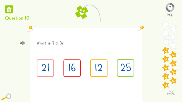 DoodleMath (Times Tables) APK screenshot 1