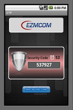 EZMCOMv4 Token APK screenshot 1