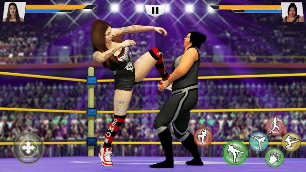 Bad Girls Wrestling 2019: Hell Ring Women Fighting APK screenshot 1