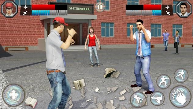 High School Fighting Gang: Gangster Teenage Karate APK screenshot 1