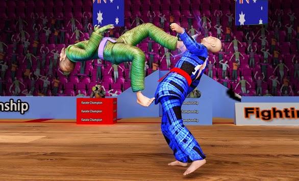 Karate King Fighter: Kung Fu 2018 Final Fighting APK screenshot 1