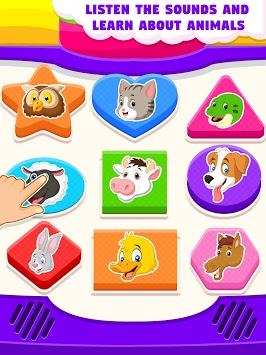 Kids Toy Computer - Kids Preschool Activities APK screenshot 1
