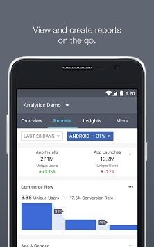 Facebook Analytics APK screenshot 1