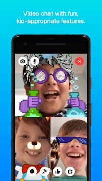 Messenger Kids – Safer Messaging and Video Chat APK screenshot 1