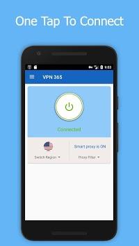 VPN 365 - Free Unlimited VPN Proxy & WiFi VPN APK screenshot 1