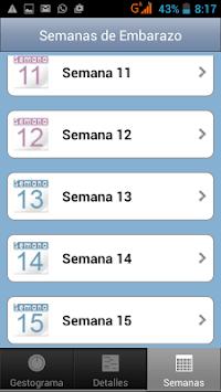 Pregnancy Weeks Calculator by Facemama APK screenshot 1