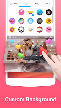 Facemoji Keyboard Lite for Xiaomi - Emoji & Theme APK screenshot 1