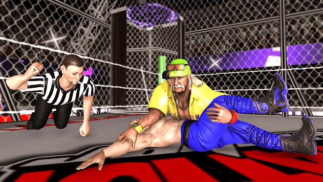 Chamber Wrestling Elimination Match: Fighting Game APK screenshot 1